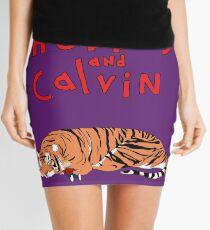 Hobbes and Calvin logo Mini Skirt