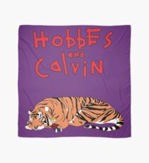 Hobbes and Calvin logo Scarf