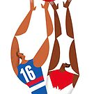 AFL Western Bulldogs Grand Final Poster Poster by Gregorilla