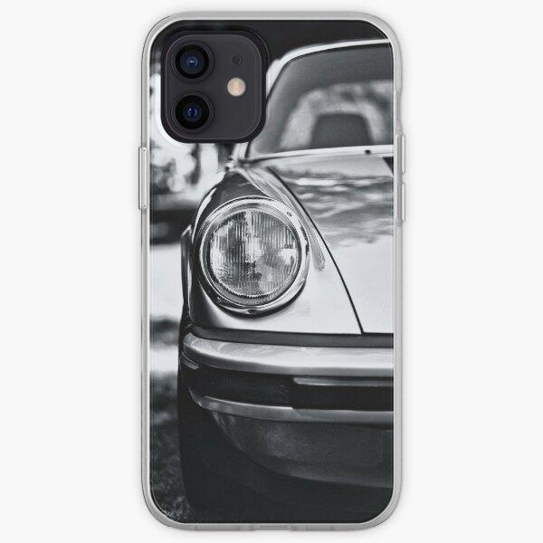 Porsche 911 Targa - half front view iPhone Soft Case