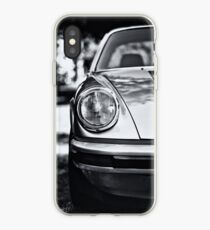 Porsche 911 Targa - half front view iPhone Case