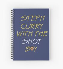 Curry drake shot Spiral Notebook