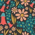 Fancy Florals by elenakballam