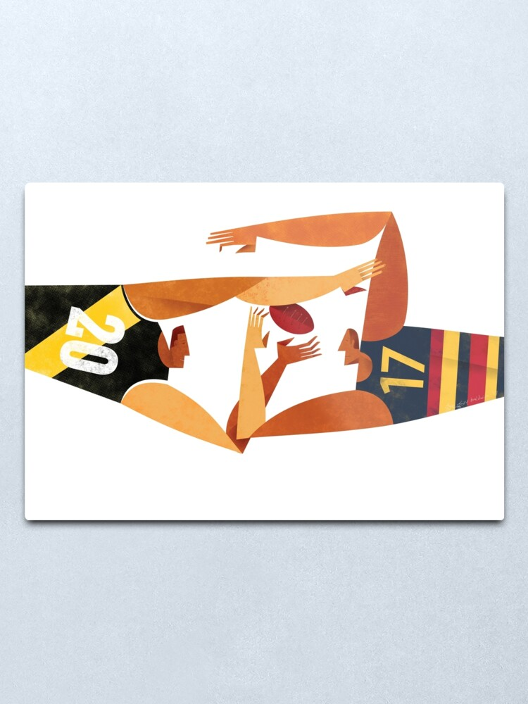 Alternate view of AFL Grand Final Richmond v Adelaide Metal Print