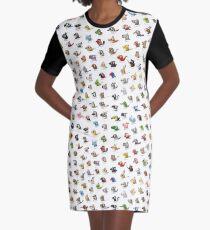 Marathon Tiere T-Shirt Kleid