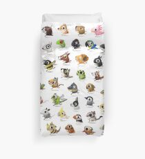 Marathon Animals Duvet Cover