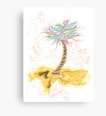 Frolicking Tree Canvas Print