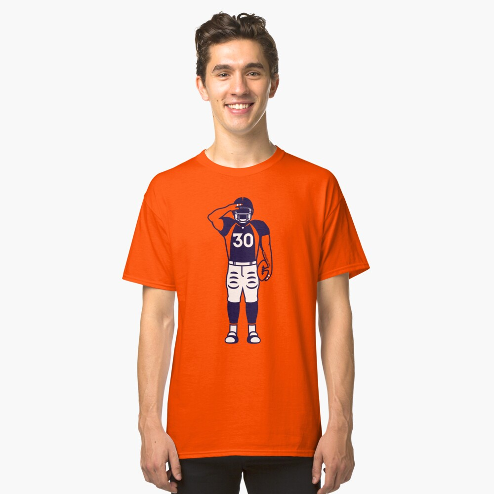 Mile High Salute Classic T-Shirt Front