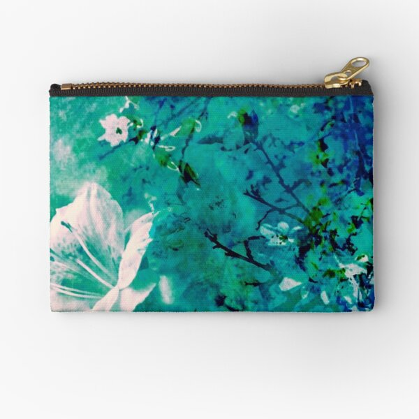 Spring Synthesis VI Zipper Pouch