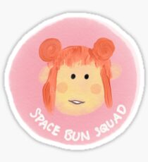 Space Bun Squad Sticker