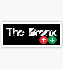 the bronx Sticker