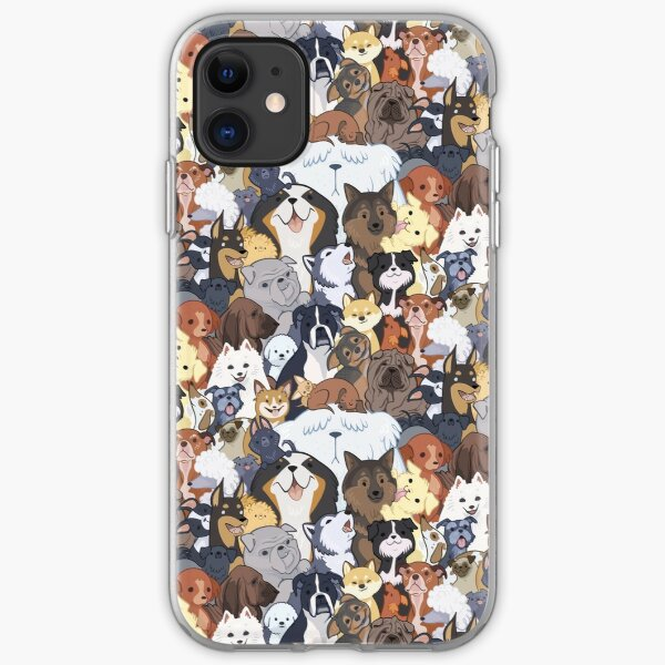 Pupper Party iPhone Soft Case