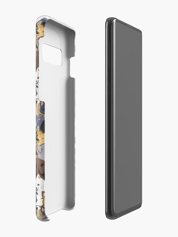 Alternate view of Pupper Party Case & Skin for Samsung Galaxy