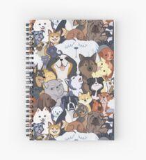 Pupper Party Spiral Notebook