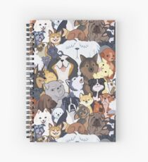 Pupper Party Spiral Notebook