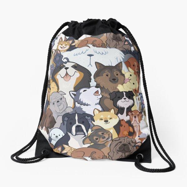 Pupper Party Drawstring Bag
