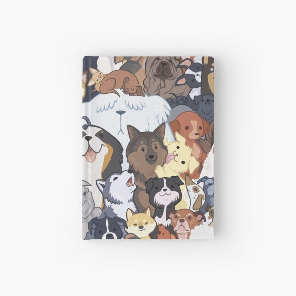 Pupper Party Hardcover Journal