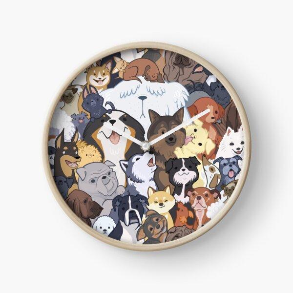 Pupper Party Clock