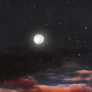 Dawn's moon by Victoria Avvacumova