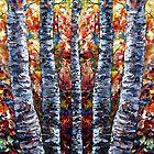 Aspen Trees by ArtOLena