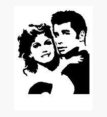 John Travolta Grease Photographic Print