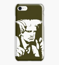 Are you man enough to fight with me? iPhone Case/Skin