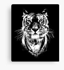 Tiger - Wild cat head Illustration Canvas Print