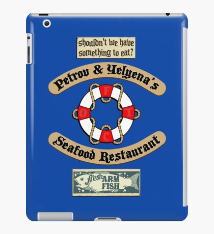 Lost But Happy At Sea iPad Case/Skin