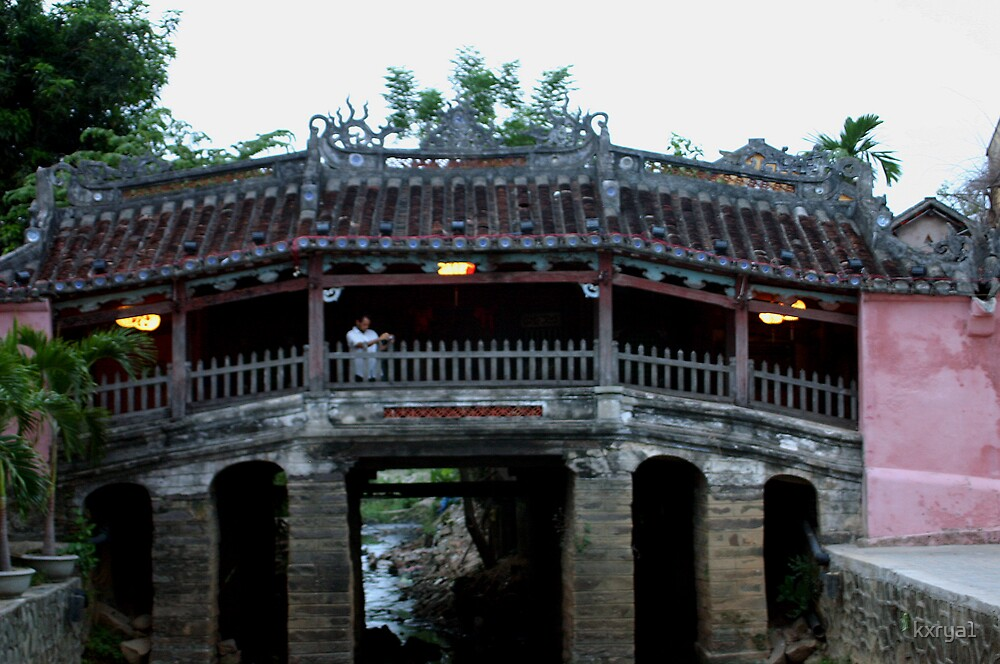 Japanese Covered Bridge - Hoian - Vietnam by kxrya1