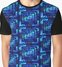 Blue Wild and Fun Graphic T-Shirt