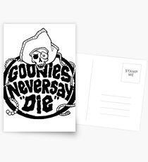 Goonies Never Say Die T-Shirt Postcards