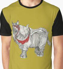 Rhinoceros On Parade Graphic T-Shirt