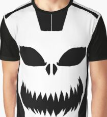 Halloween Mask Graphic T-Shirt