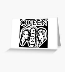 QUEEN-ONE VISION Greeting Card