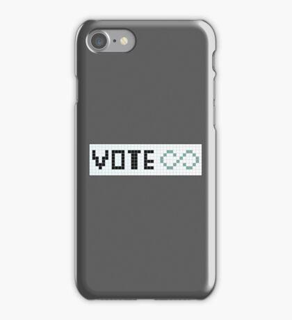Vote Infinity! iPhone Case/Skin