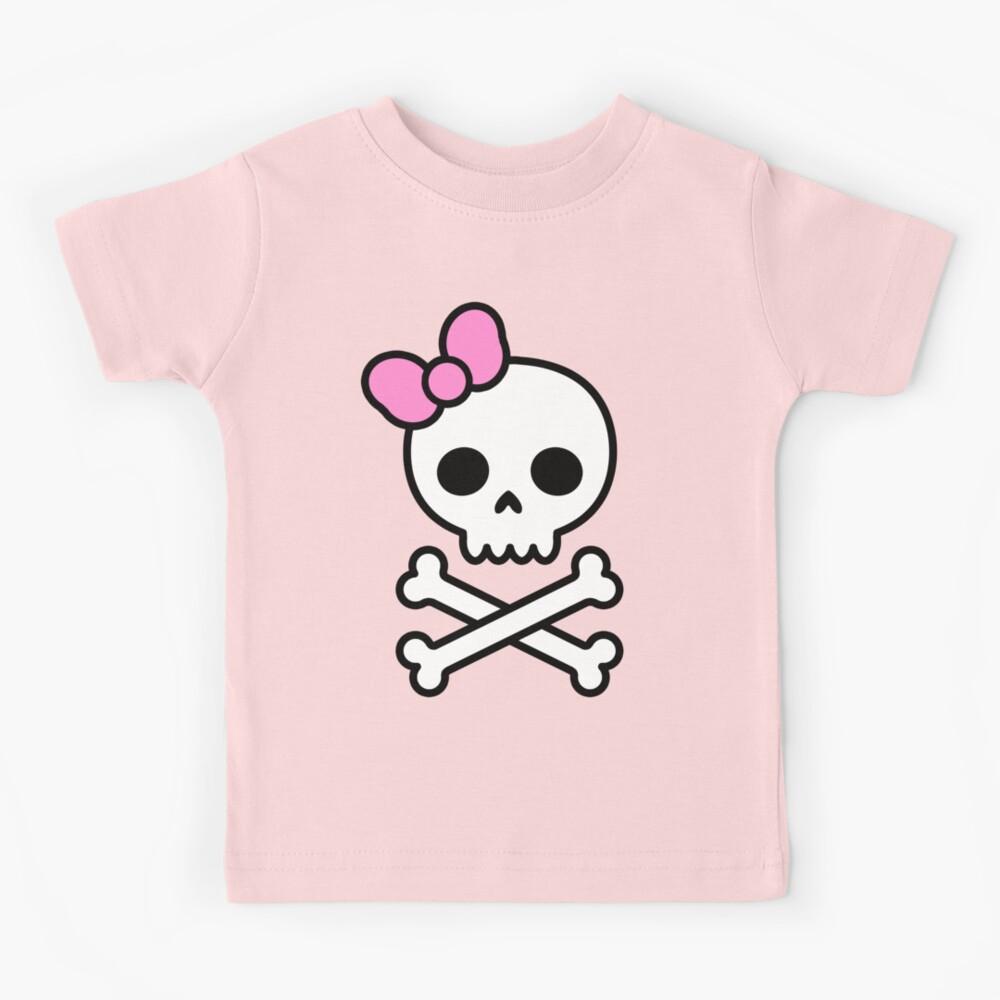 Cute Skull Kids T-Shirt