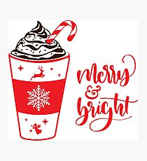 Merry and Bright Photographic Print