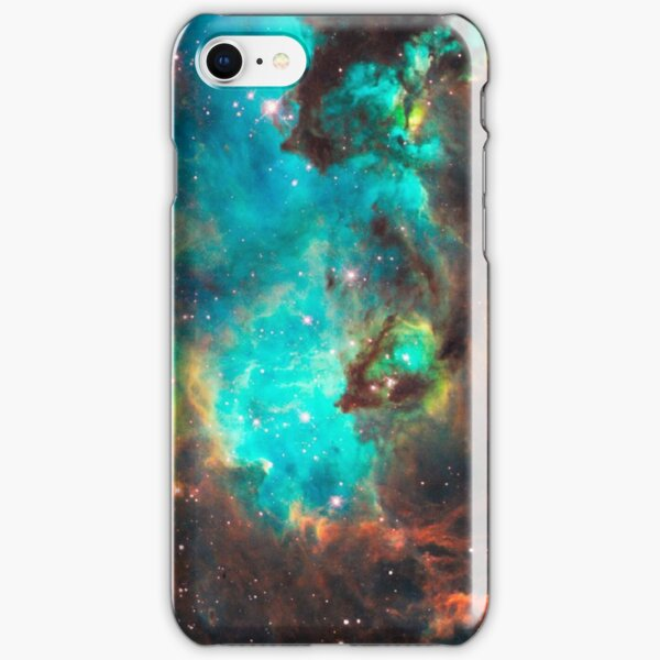 Green Galaxy iPhone Snap Case