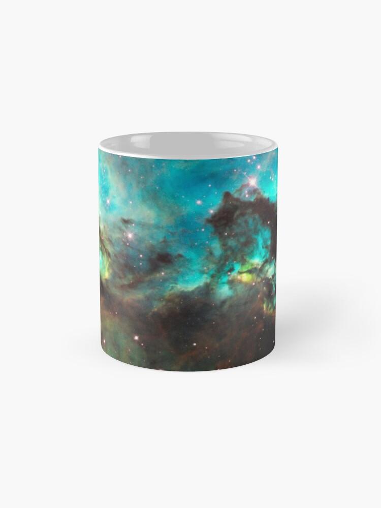 Alternate view of Green Galaxy Mug