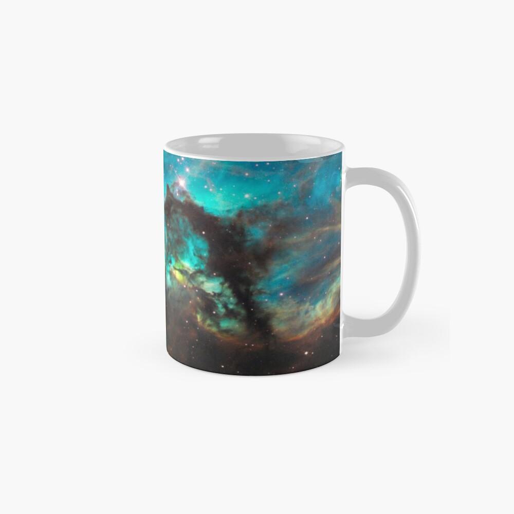 Green Galaxy Mug
