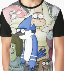 Mordecai and Rigby Graphic T-Shirt