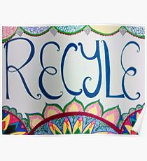 Recycle every day Poster