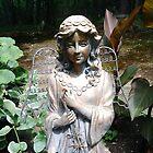 Garden  Angel by Jane Neill-Hancock