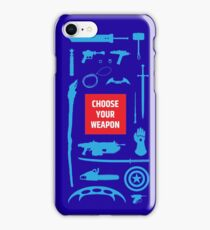 Sci-fi Weapons iPhone Case/Skin