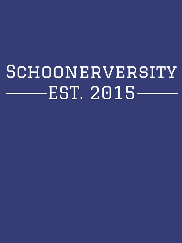 Schoonerversity - Est. 2015 (large) by schoonerversity