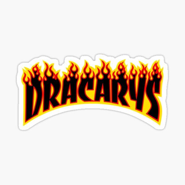 Dracarys - Game of thrones Parody Sticker