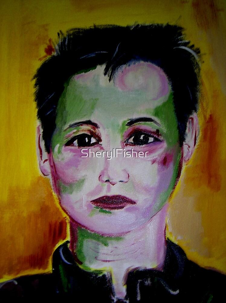 Self portrait by SherylFisher