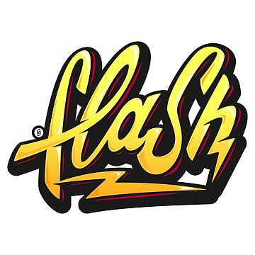 Flash Lettering by LucaGiobbe