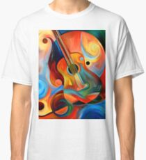 guitar painting Classic T-Shirt