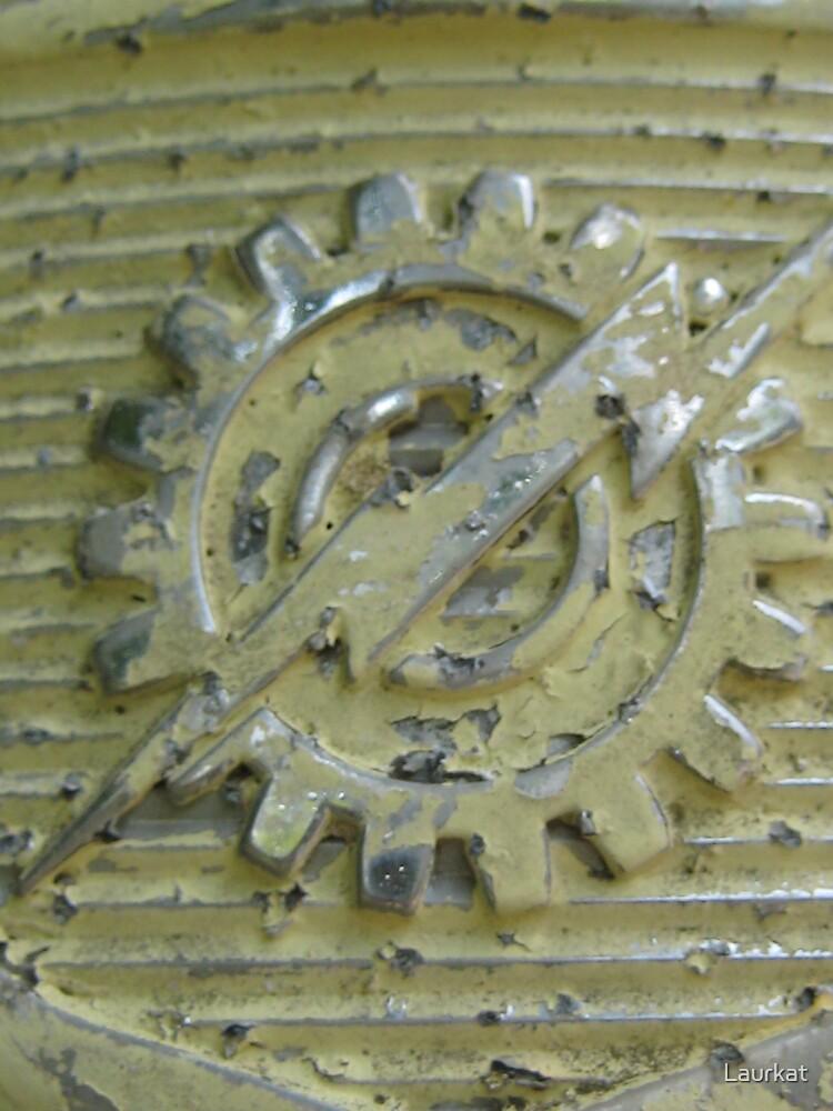 rusty truck logo in summer by Laurkat